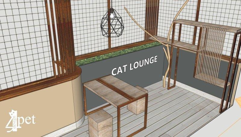 Design4Pet Cat Lounge