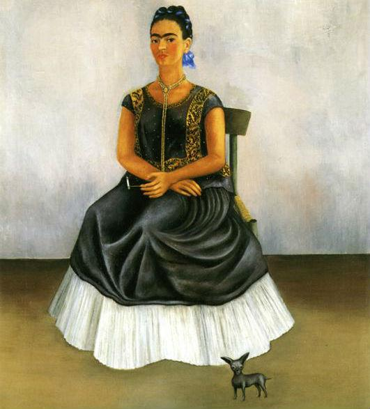 Frida Kahlo Itzcuintli Dog With Me