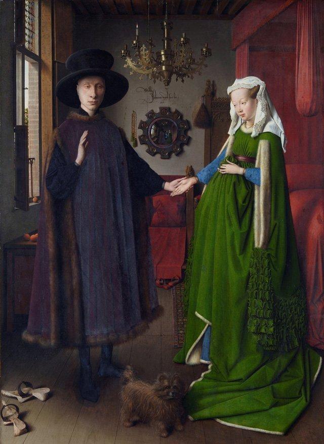 Dipinto Van Eyck Ritratto Arnolfini