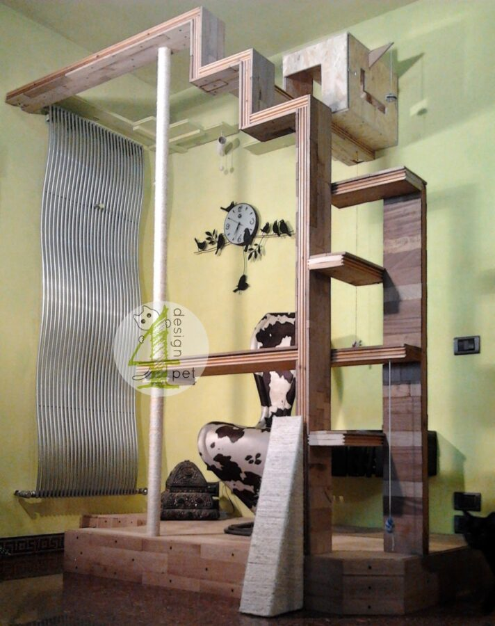 Design4Pet Cat Workstation Gatti 2
